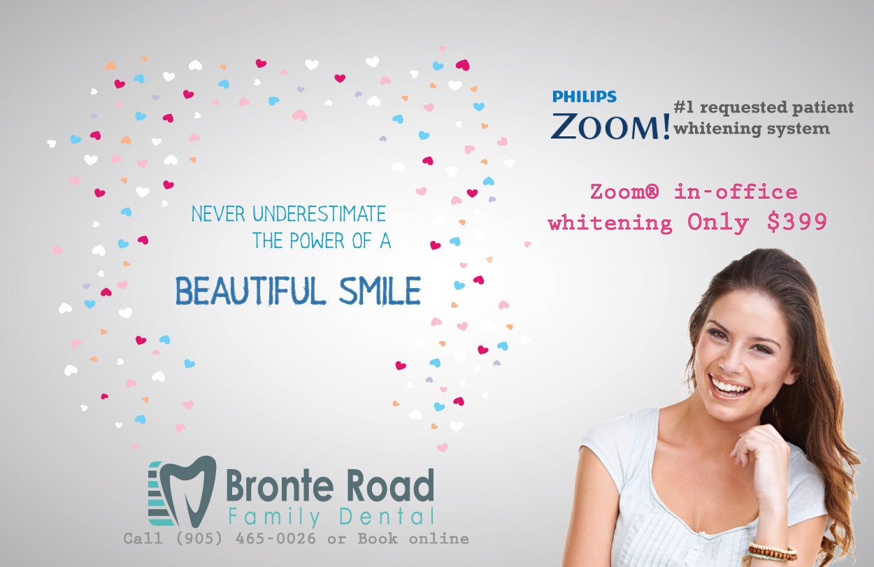 zoom teeth whitening special oakville