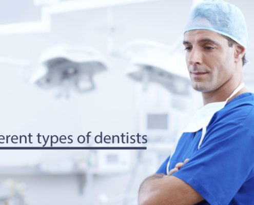 Different types of dentists